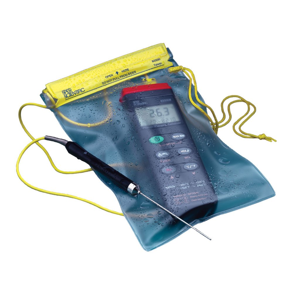 7 Wide Sper Scientific 840090 Water Resistant Instrument Pouch for Dissolved Oxygen Meter 9 Length