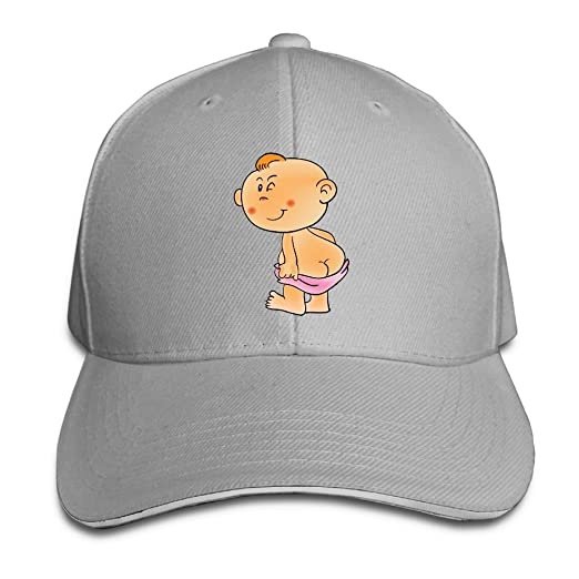 a5ca559f70656 FOOOKL Naughty Baby Unisex Washed Low Profile Cotton Hat Baseball Cap - 8  Colors