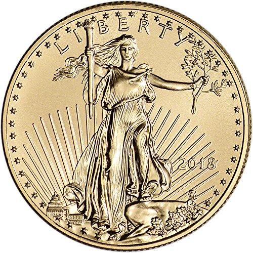 2018 American Gold Eagle (1/2 oz) $25 Brilliant Uncirculated US Mint
