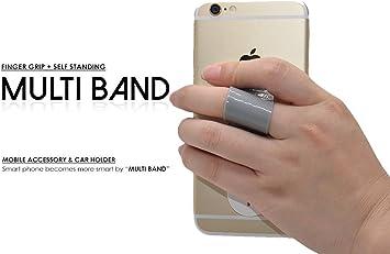 topshow Multi Band, teléfono celular agarre seguro, soporte de ...