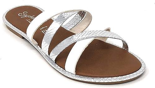 Pick SZ//Color. Seychelles Womens Beyond Reason Slide Sandal