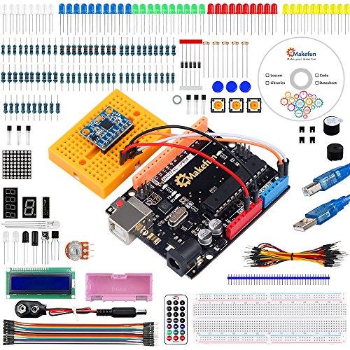 Emakefun UNO R3 Project MPU6050 Starter Kit w/Tutorial for Arduino UNO Mega2560 Nano
