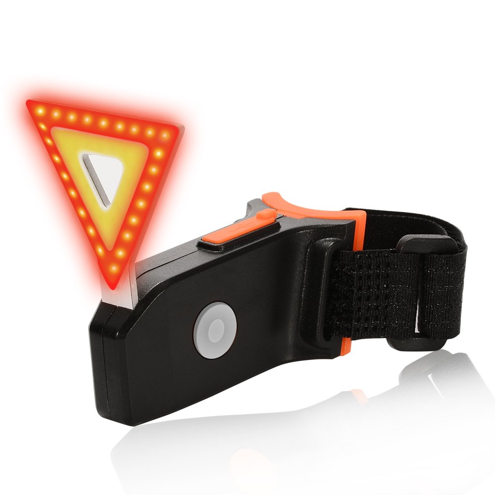 Red Bright and Easy To Install 5 Lighting Modes Yellow Cycling Safety Flashlight ACHICOO Bike Tail Light 0.92 oz Fits on Any Road Bikes USB Rechargeable Bicycle Tail Light