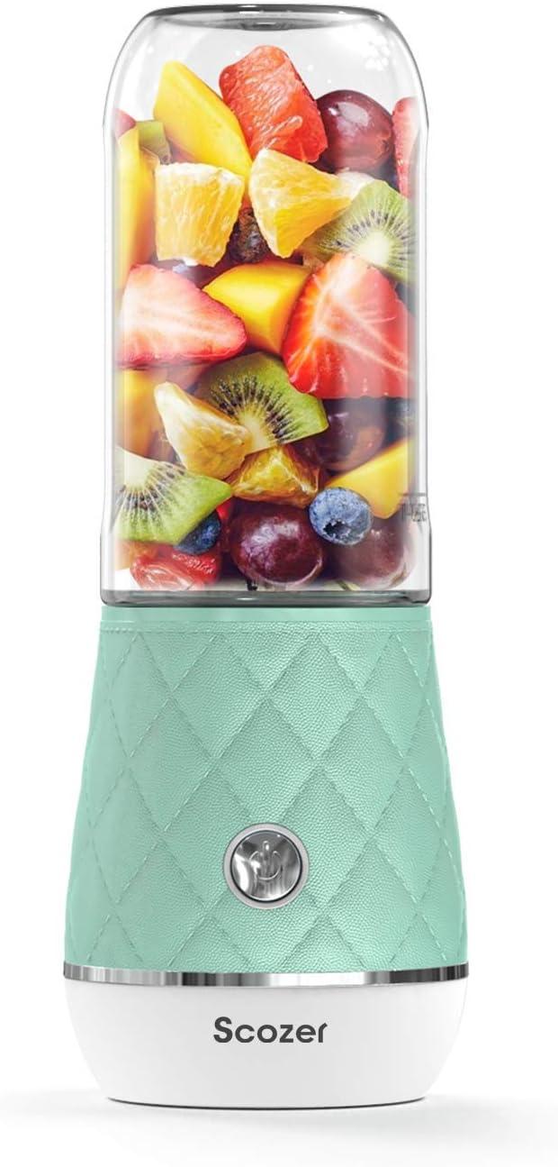 Portable Blender,Mini Personal Blender,Shakes and Smoothies Maker,Small Juice Blender,BPA Free Tritan 300ml,Fruit Juicer Mixer Cordless Personal Size Blenders