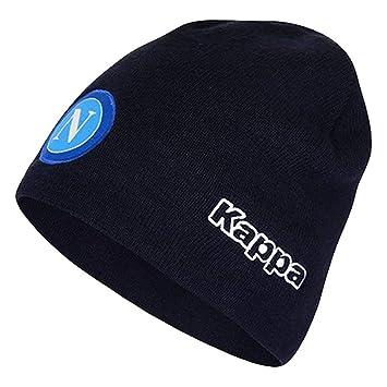 b9b1ee26 Napoli Beanie Hat - Navy 2018 2019: Amazon.co.uk: Sports & Outdoors