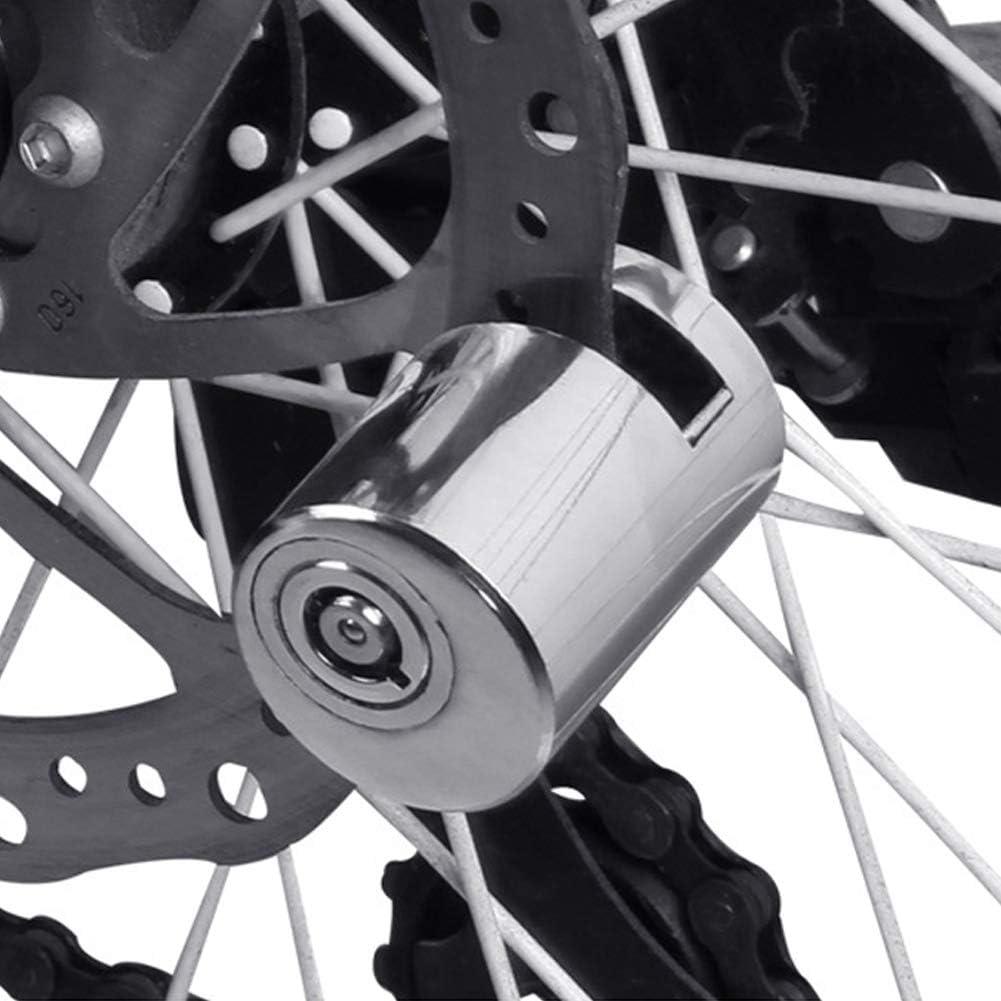Pangding Blocco Disco Freno Bici Mini Blocco Freno antifurto di Sicurezza per Moto da Mountain Bike