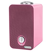 Guardian Technologies GermGuardian Kids Night-Night 4-in-1 Hepa Air Purifier with Projector, Pink