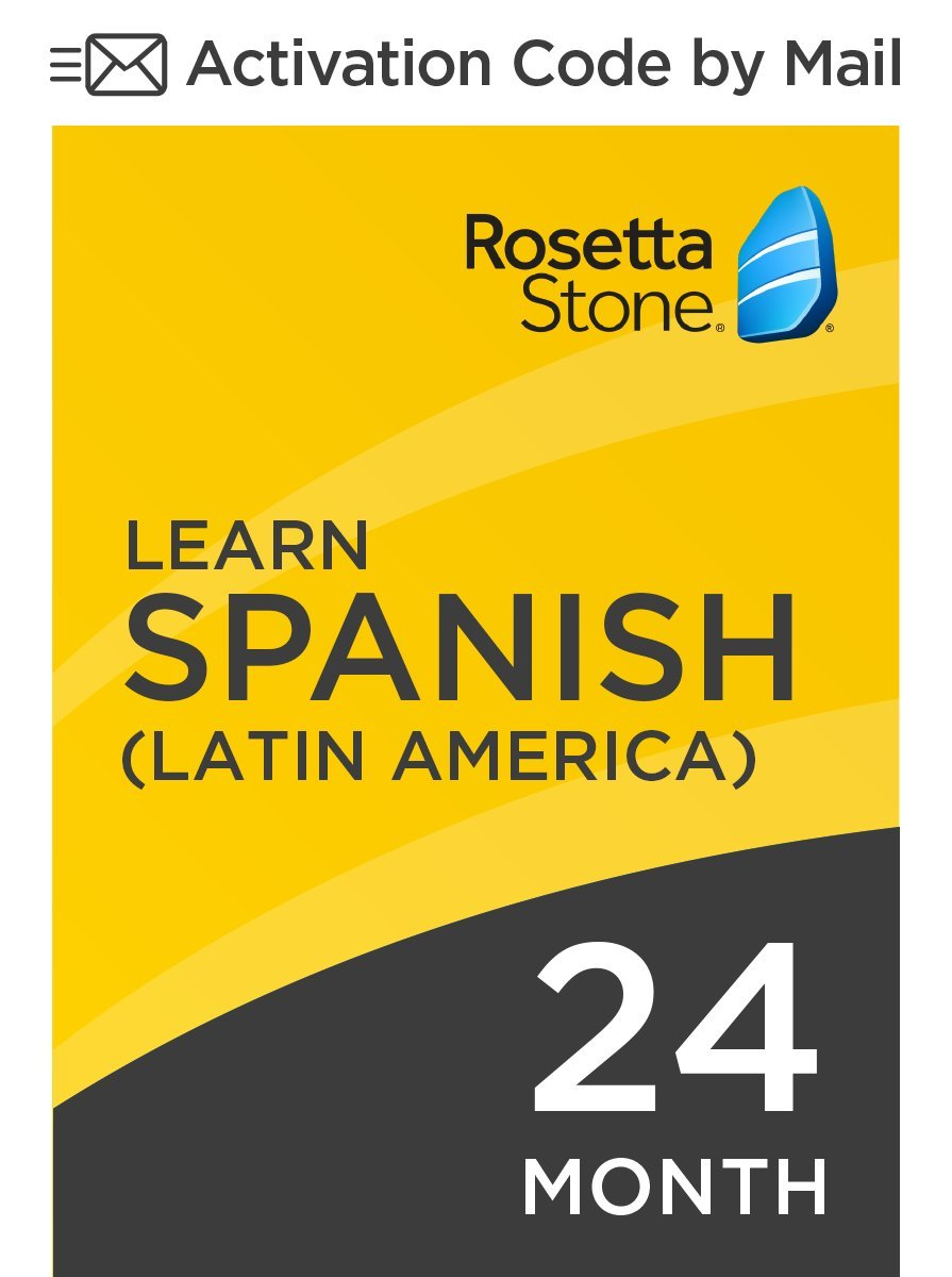 Amazon.com: Rosetta Stone: Learn Spanish (Latin America) for 24 months on  iOS, Android, PC, and Mac - mobile & online access: Software