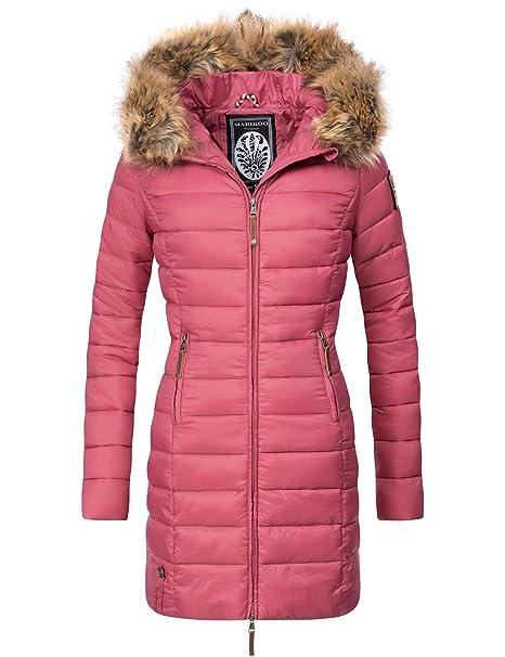 huge selection of 83d05 4b509 Marikoo Damen Winter-Mantel Steppmantel Rose 20 Farben XS-XXL