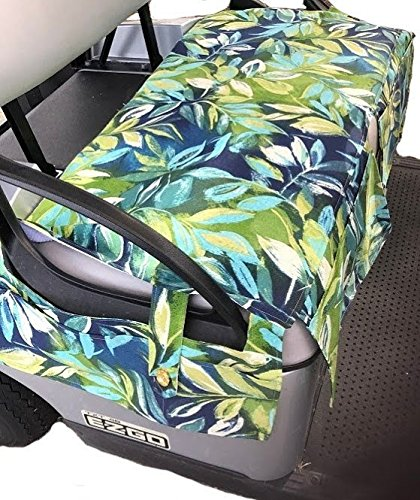 - Golf Cart Covers Plus All Weather Golf Cart Seat Cover fits All EZGO Freedom TXT Golf Cart Seats Made in USA Seabreeze