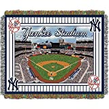 The Northwest Co MLB Stadium Woven Tapestry Throw