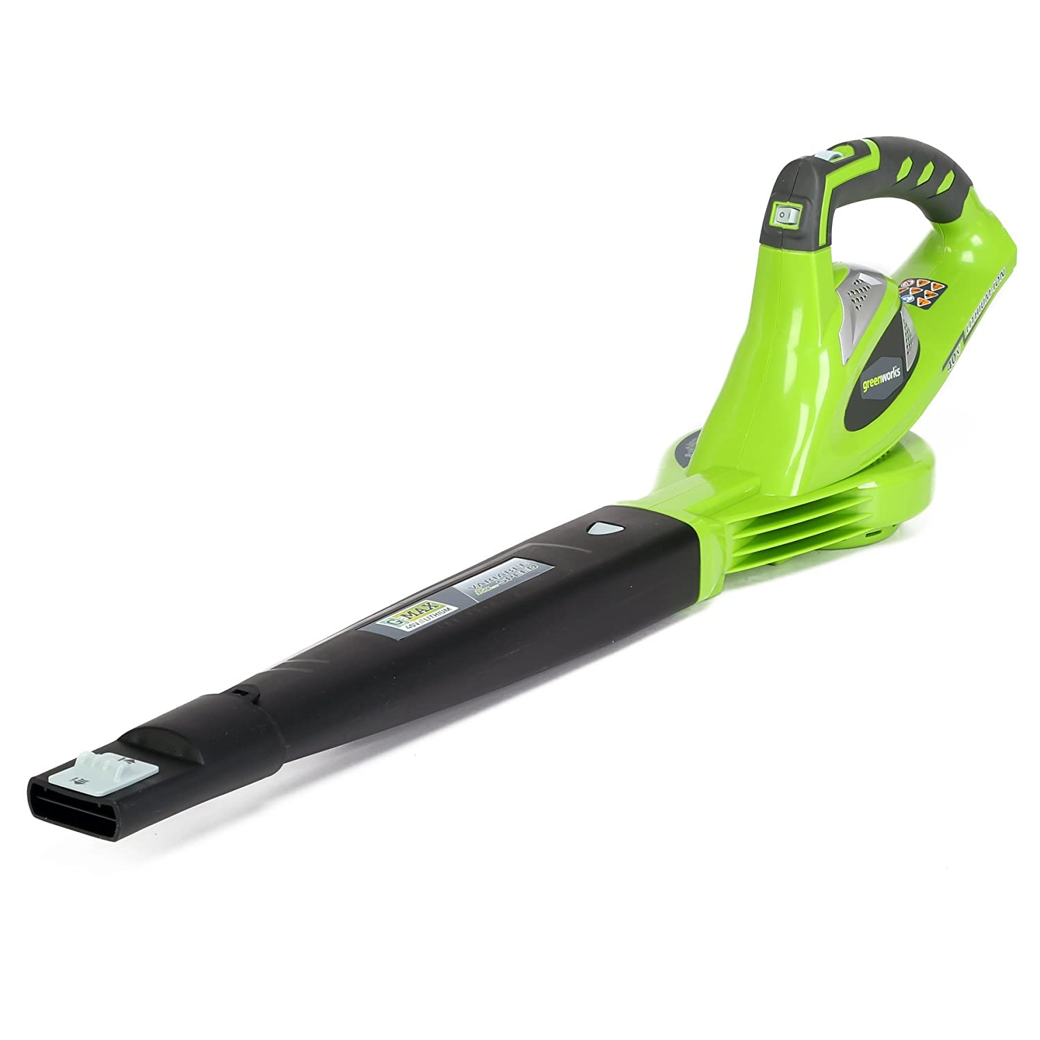 Greenworks 40V 150 MPH Variable Speed Cordless Blower, Battery Not Included 24282 Renewed