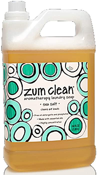 Zum Sea Salt Clean Laundry Soap 64 Oz, 1 Count