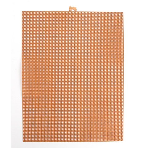 Better Crafts PLASTIC CANVAS COPPER METALIC 7MESH 10.5X13.5 (12 pack) (033900-360) by Better crafts