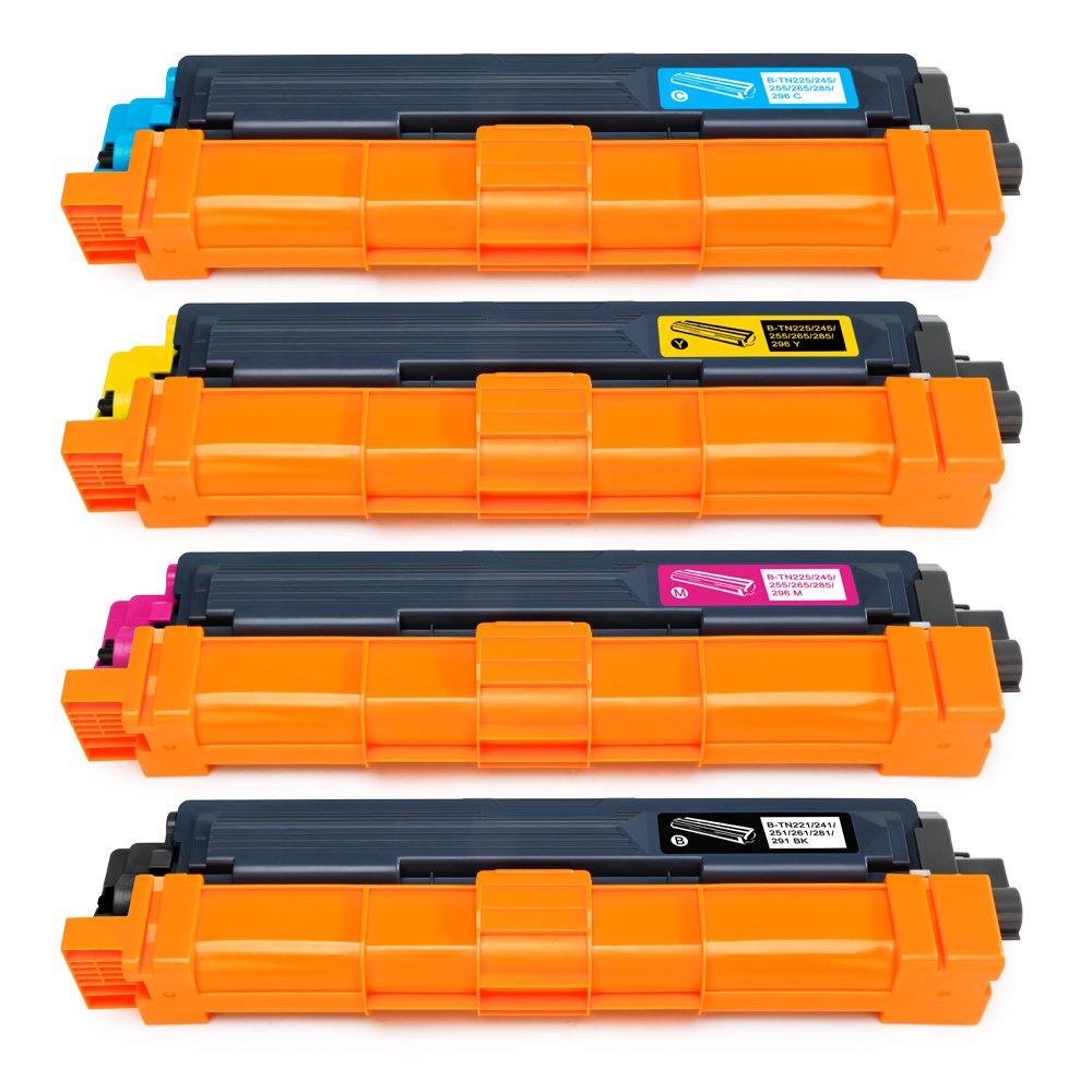 Mipelo TN TN TN TN Cartuchos de tóner Pack Reemplazo Compatible para