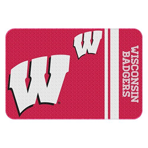 (Northwest COL 336 20x30 NOR-1COL336000003WMT Wisconsin Badgers NCAA Tufted Rug, 30 x 20)