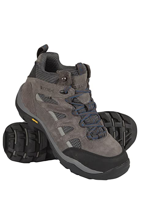 Mountain Warehouse Egret Zapatos Botas Botines Senderismo Excursiones Suela Vibram Hombres Grises 45: Amazon.es: Zapatos y complementos