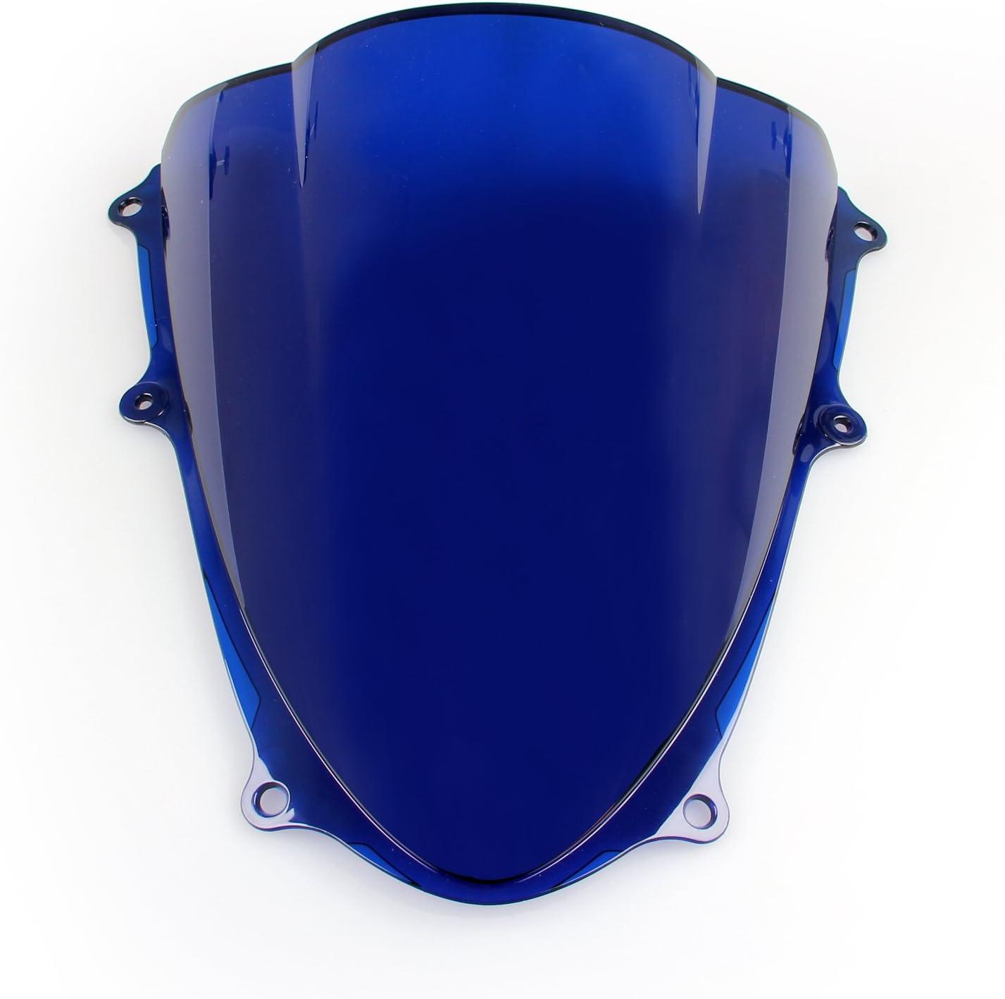 Topteng Motorcycle Windshield,Sport Windscreen with ABS Aerodynamic Design for Su-zu-ki GSXR 1000 2009-2016 K9