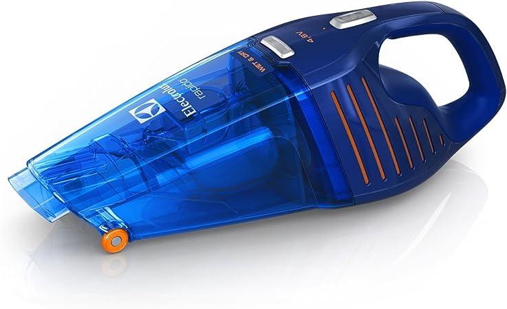 Electrolux ZB5104WD Rápido ZB5104WD-Aspirador de Mano con batería de 4.8 V y función líquidos y sólidos, 4.8 W, 0.5 litros, 77 Decibelios, Azul profundo: Amazon.es: Hogar