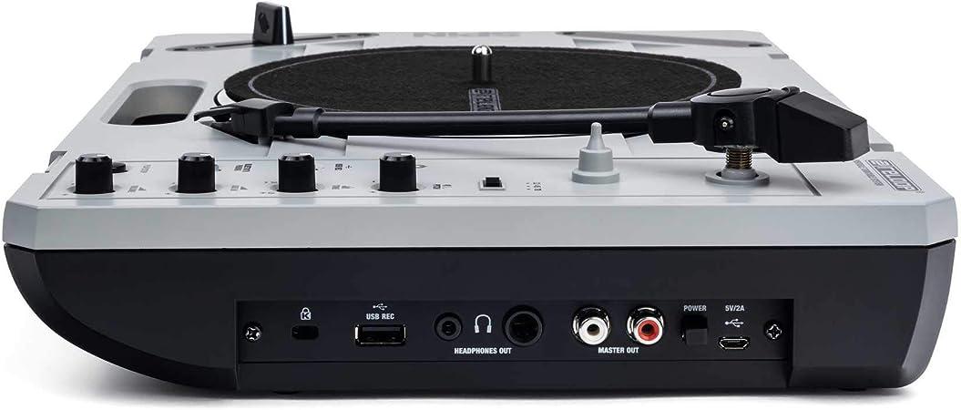 Amazon.com: Reloop SPIN - Tocadiscos portátil con pilas y ...