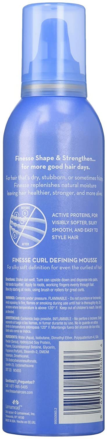 Amazon.com : Finesse Curl Defining Mousse, 7 Oz : Hair Styling Mousses :  Beauty