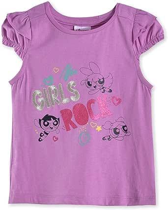 The Powerpuff Girls Girls Knit Top