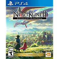 Ni no Kuni II Revenant Kingdom Day one Edition for PlayStation 4 by Bandai Namco Game