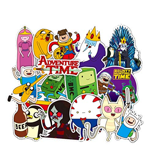 Meet Holiday Adventure Time Skateboard Vinyl Stickers Car Motorcycle Bicycle Luggage Decal Graffiti Patches Skateboard Stickers for Laptop (Decal Adventure Laptop Time)