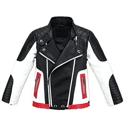 LJYH Fall-Favorite Kids'Jacket with Cool Stand-up Collar