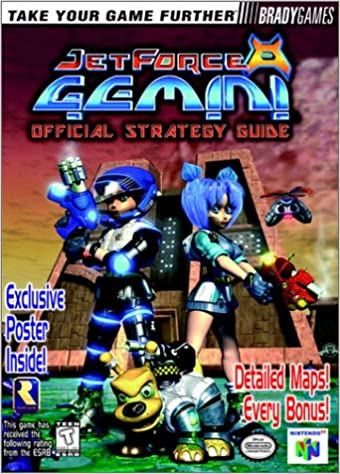 Jet Force Gemini Official Strategy Guide Bradygames 9781566868877