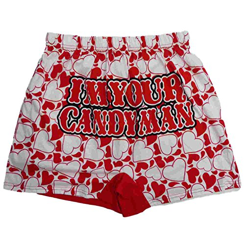 The Simpsons Mens Valentine S Day Boxers Candy Man Homer Boxer