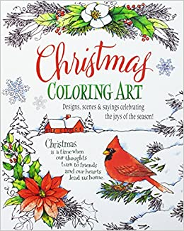 Christmas Coloring Art Product Concept 9780997357141 Amazon Books