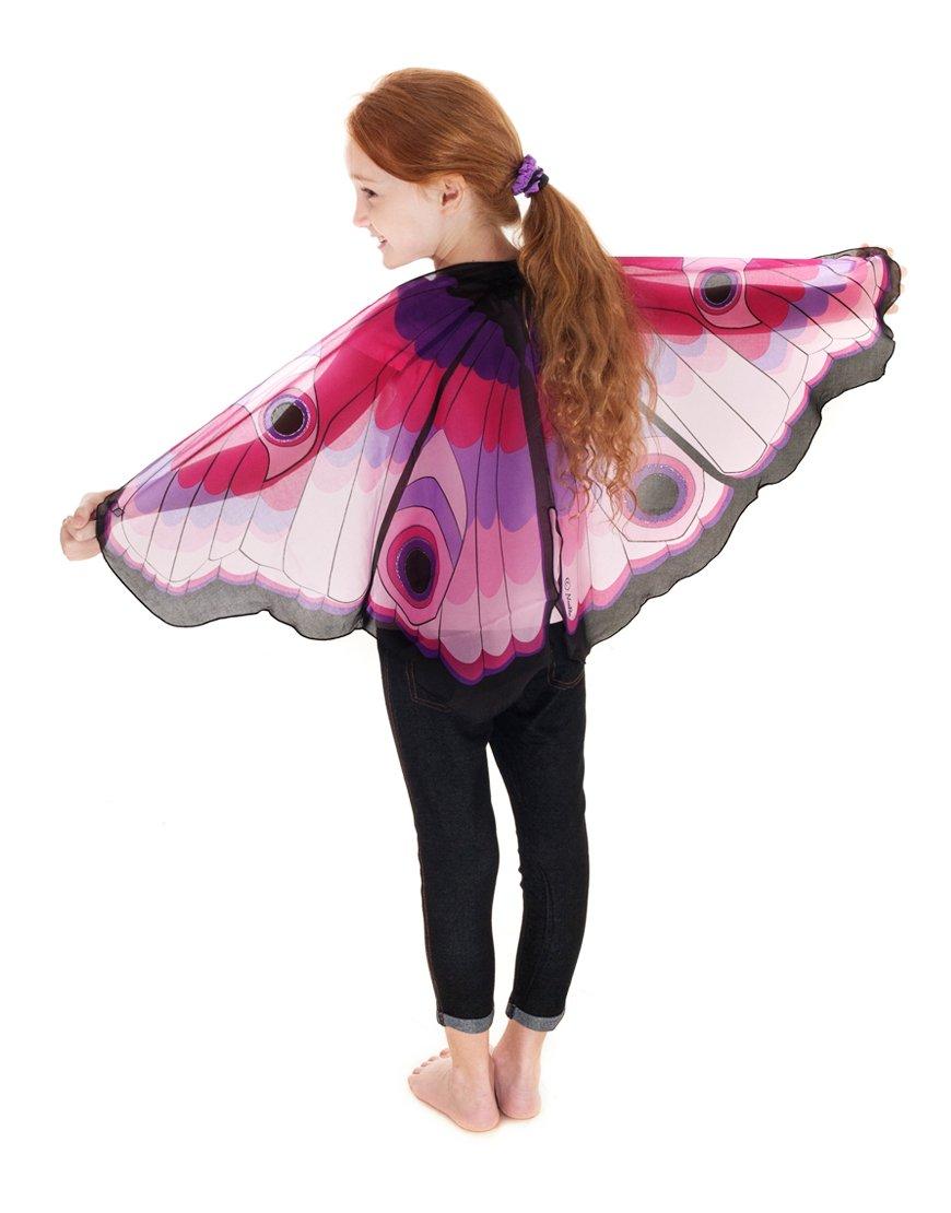 Pink Butterfly Schmetterling rosa Dreamy Dress-Ups XL 50560 XL Wings Fl/ügel