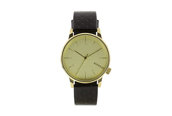 Komono Reloj Winston Reloj Black Zirconium