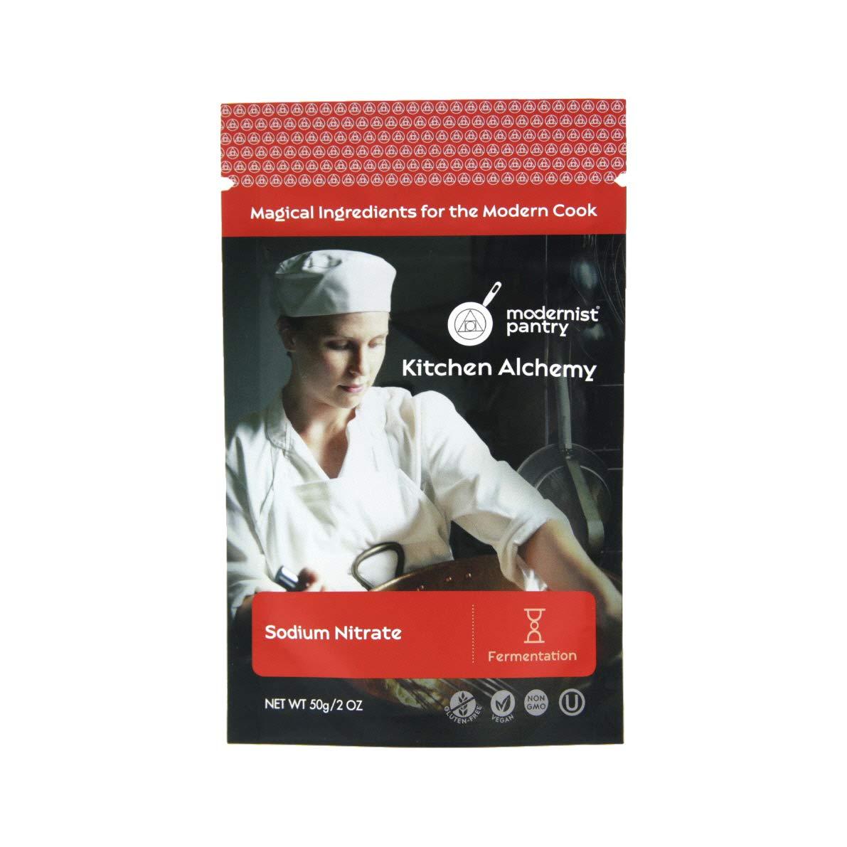 Sodium Nitrate ⊘ Non-GMO ❤ Gluten-Free ☮ Vegan ✡ OU Kosher Certified - 50g/2oz