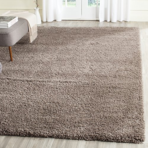 Safavieh California Shag Collection 8' x 10' Area Rug, Taupe