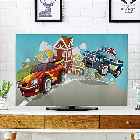 Philiphome Protect Your TV - Fondo de Dibujos Animados para Cocina de Hadas para niños, Protege tu televisor (Ancho 19 x Alto 30 Pulgadas/TV 32 Pulgadas): Amazon.es: Hogar