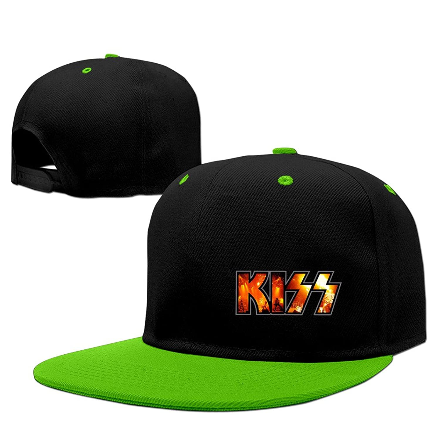 Custom Your Own Kiss Band Logo Hip Hip Cap Baseball Hat For Unisex Adjustable 100% Cotton