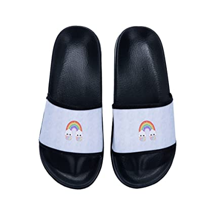 295b1bfd6 Amazon.com  DREA Indoor Shoes Men Slippers Summer Sandals Men Flip Flops  Beach Sandals Of The Rainbow Slippers Shoes  Sports   Outdoors