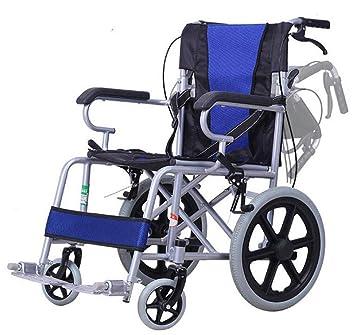 SHOWGG Conduzca Las sillas de Ruedas médicas Ligero y ...