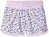 Columbia Little Girls' Solar Stream Ii Boardshort, Phantom Purple Mimosa Print, XXS