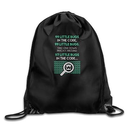 Hay 10 tipos de personas binario cordón mochila.