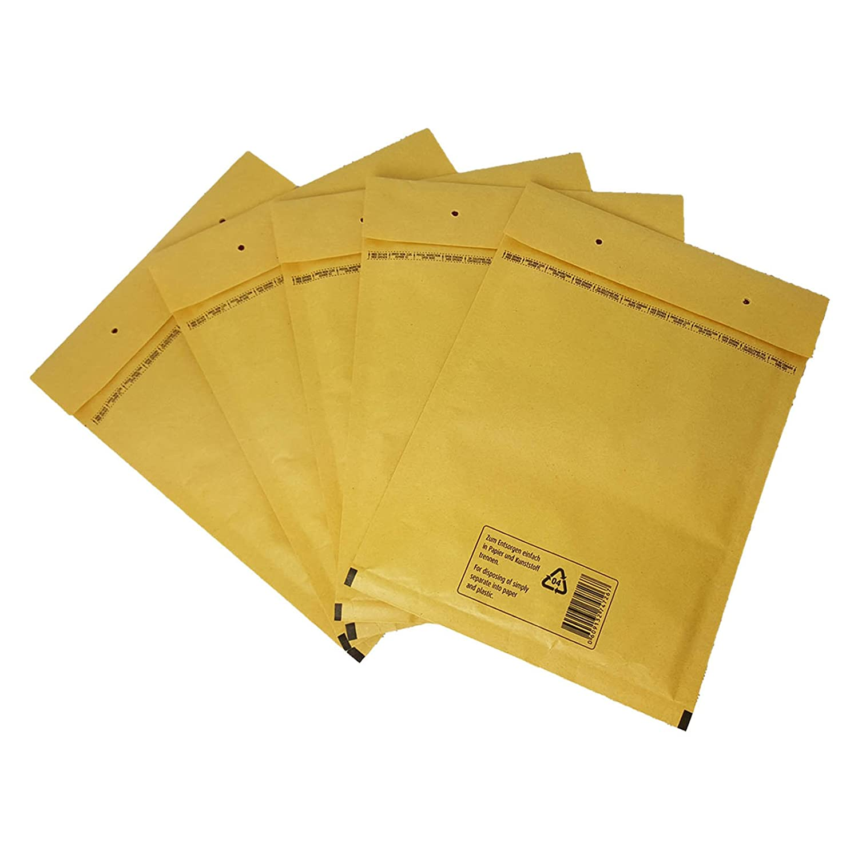 8//H Braun Luftpolstertaschen Versandtaschen Luftpolster Versand Büchersendung