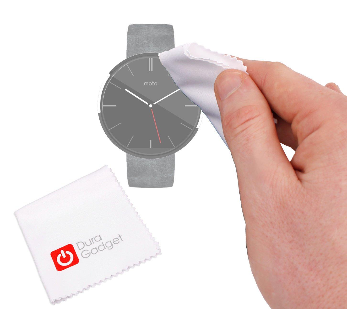 DURAGADGET Gamuza Limpiadora para Smartwatch Motorola Moto ...