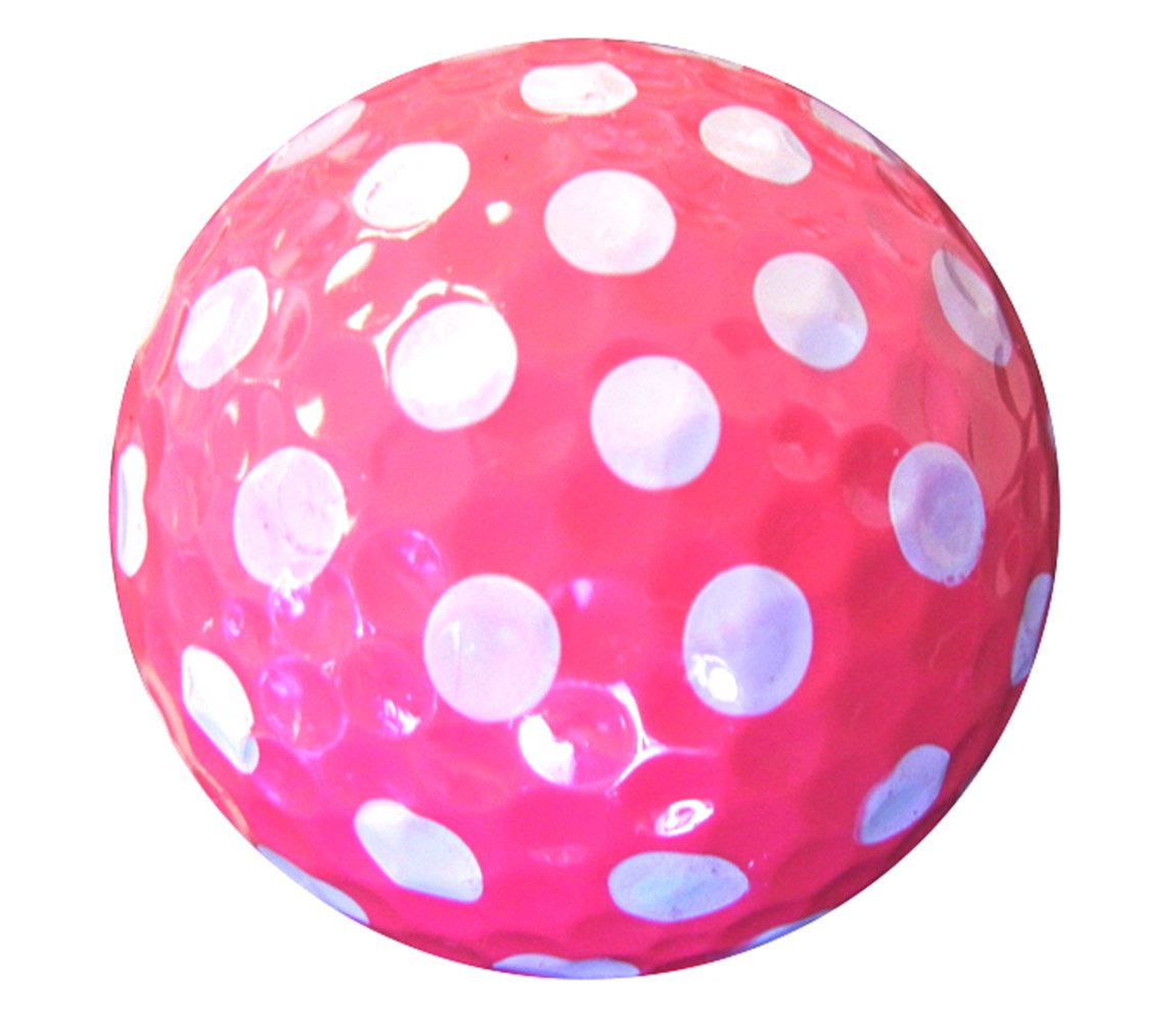 Golf Balls Purple AND Pink Polka Dot (Sleeve of 3)- 2 PACK by Navika (Image #5)