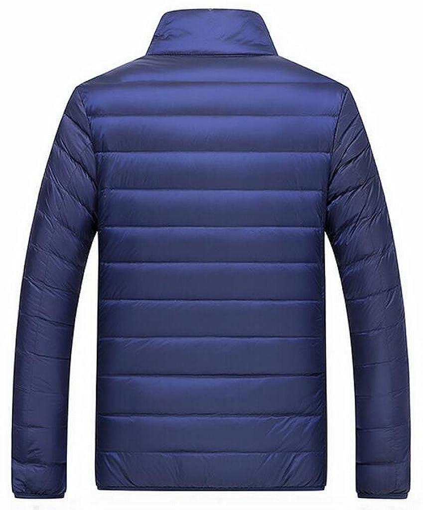 ARTFFEL Men Winter Ultra Soft Lightweight Packable Duck Down Jacket Coat