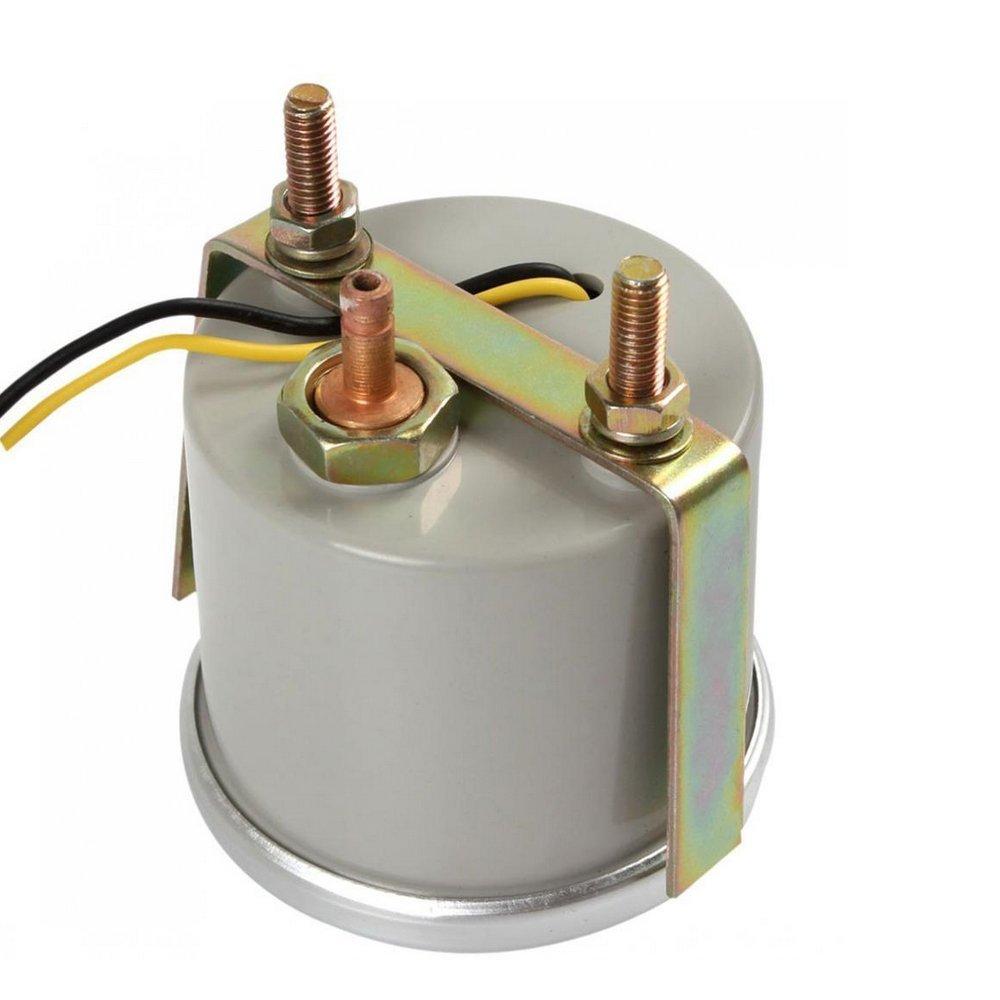 ESUPPORT 2 52mm Car Motor Universal Psi Turbo Boost Gauge Meter Smoke Tint Len LED