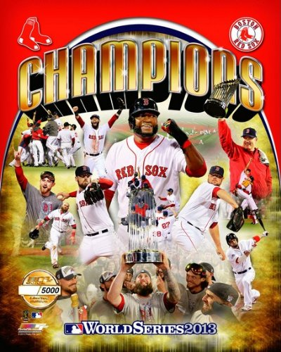 Boston Red Sox 2013 World Series Champions Team Composite Limited Edition (# of 5,000) Photo 8x10 -