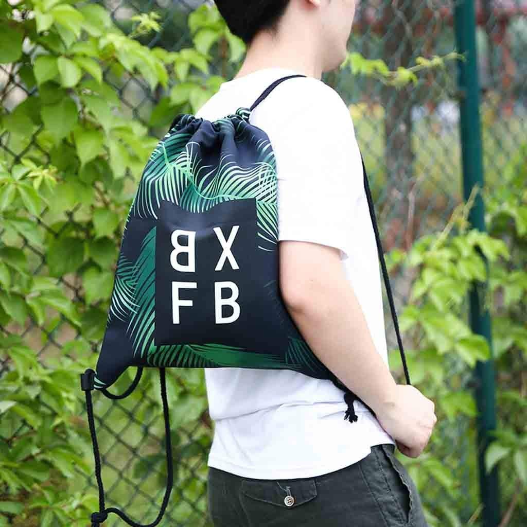 Backpack Fitness Bag Unisex Sports Bag Digital Printed Bouquet Pocket Beach Bag Backpack for Women Men Waterproof by Letdown (Image #2)
