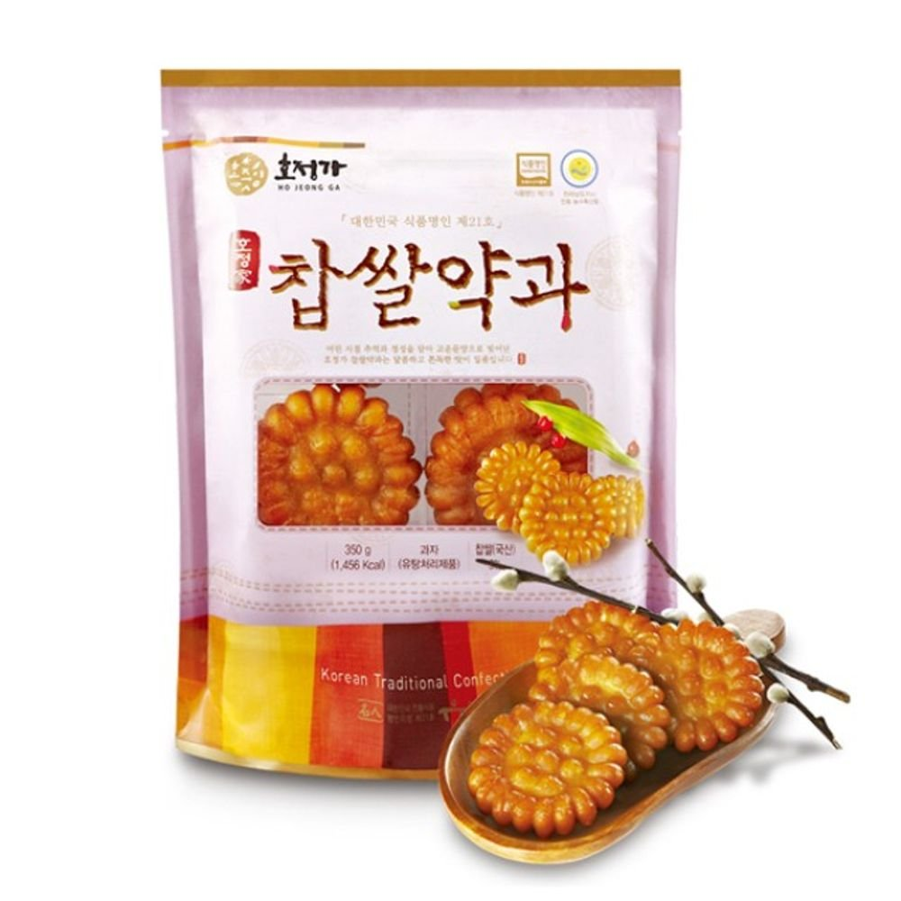 Changpyeong Glutinous Rice Snack Yakgwa 350G 약과 by Changpyeong